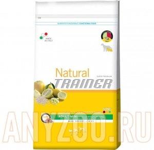 Купить Trainer Natural Adult Mini Beef Riso Genseng Сухой корм для собак мелких пород Говядина рис женшень
