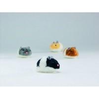 фото I.P.T.S. 440370 Игрушка для кошек Хомячок вибрирующий, плюш