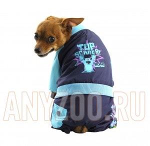 фото Disney Дисней комбинезон для собак демисезонный Monsters синий