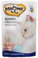 Мнямс Буйабес по-Марсельски пауч для кошек  рыба с морепродуктами