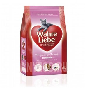 Wahre Liebe Sensible Варе Либе сухой корм для привередливых и аллергичных кошек