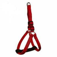 фото GiGwi 75167 Шлейка нейлоновая красная с мягкими вставками для маленьких собак