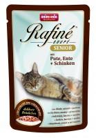 фото Animonda Rafine Soupe Senior пауч для кошек старше 7лет Коктейль из мяса индейки, утки и ветчины