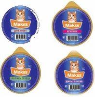 фото Maks`s - Максс консервы для кошек консервы МИКС (ассорти)