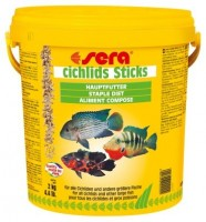 фото Sera Cichlids Sticks Корм для цихлид и других крупных рыб в виде палочек