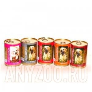 Дог Ланч консервы для собак Парк Зоо ассорти-микс