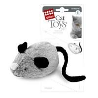 фото GiGwi 75240 Игрушка для кошек Интерактивная мышка двигается при касании лапами