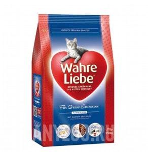 Wahre Liebe Altere Варе Либе сухой корм для стареющих кошек