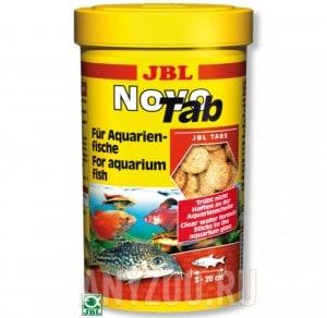 фото JBL NovoTab  Корм в форме таблеток для всех видов аквариумных рыб