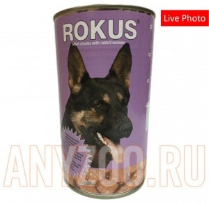 Rokus Meat chunks with rabbit/venision