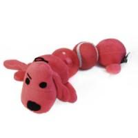 фото VIPet Игрушка Loofa Собака-гусеница 2 пищалки