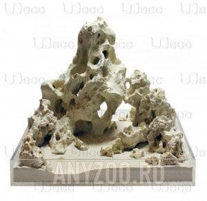 """Купить UDeco Sansibar Rock MIX SET Натуральный камень """"Занзибар"""" для оформления аквариумов и террариумов"""