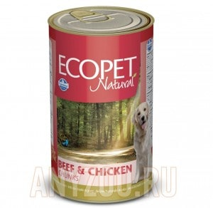 Ecopet Natural Bicolore Beef & Chicken