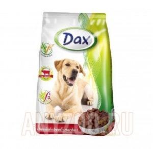 фото Dax Дакс сухой корм для взрослых собак всех пород с говядиной