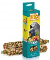 фото Rio Палочки для средних и крупных попугаев с фруктами и ягодами