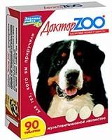Доктор Зоо витамины для собак Здоровье кожи и шерсти