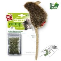 фото GiGwi Гигви игрушка для кошек Мышка с кошачьей мятой