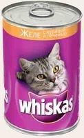 фото Whiskas  Вискас консервы для кошек Желе Курица/Печень