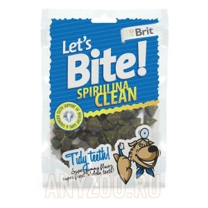 Brit Let`s Bite Spirulina Clean