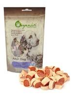 Органикс Лакомство для собак Рулетики из курицы и рыбы 100% мясо