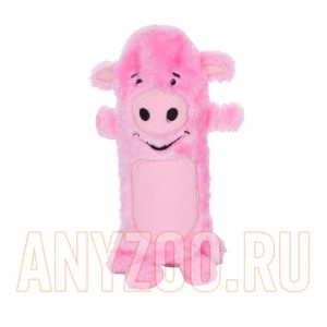 Купить Petstages Ботл Гиглерс Игрушка для собак текстильная с бутылкой Свинка