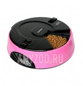 фото Feed-ex Автоматическая кормушка на 6 кормлений для кошек и собак с ЖК дисплеем для любого вида корма арт. PF6