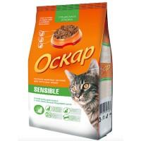 Оскар Sensible Сухой корм для кошек с чувствительным пищеварением