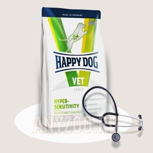Купить Happy Dog Hypersensitivity Хэппи Дог Диетический корм для собак при пищевой аллергии