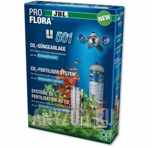 фото JBL ProFlora u501Система- CO2 с одноразовым баллоном 500 г для аквариумов до 400 л (120 см)