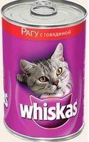 фото Whiskas - Вискас консервы для кошек рагу с говядиной