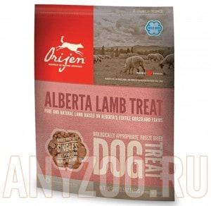 фото Orijen FD Alberta Lamb Dog -Ориджен Ягненок сублимированное лакомство для собак всех возрастов