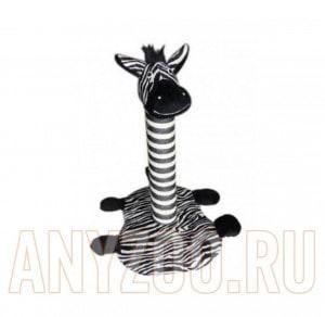 фото Сафари когтеточка-столбик зебра 35х30х60