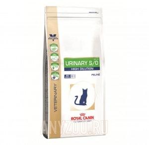 Купить Royal Canin Urinary S/O High Dilution UHD Сухой корм для кошек при МКБ