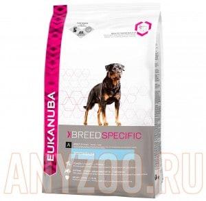 фото Eukanuba Dog BN Rottweiler - Эукануба сбалансированный корм  для собак породы  Ротвейлер
