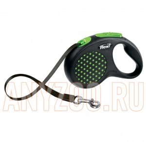 фото Flexi Design Рулетка Флекси Дизайн для собак S 5м*15кг (ремень)
