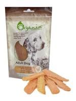 Органикс Лакомство для собак Тонкие куриные ломтики с кальцием 100% мясо
