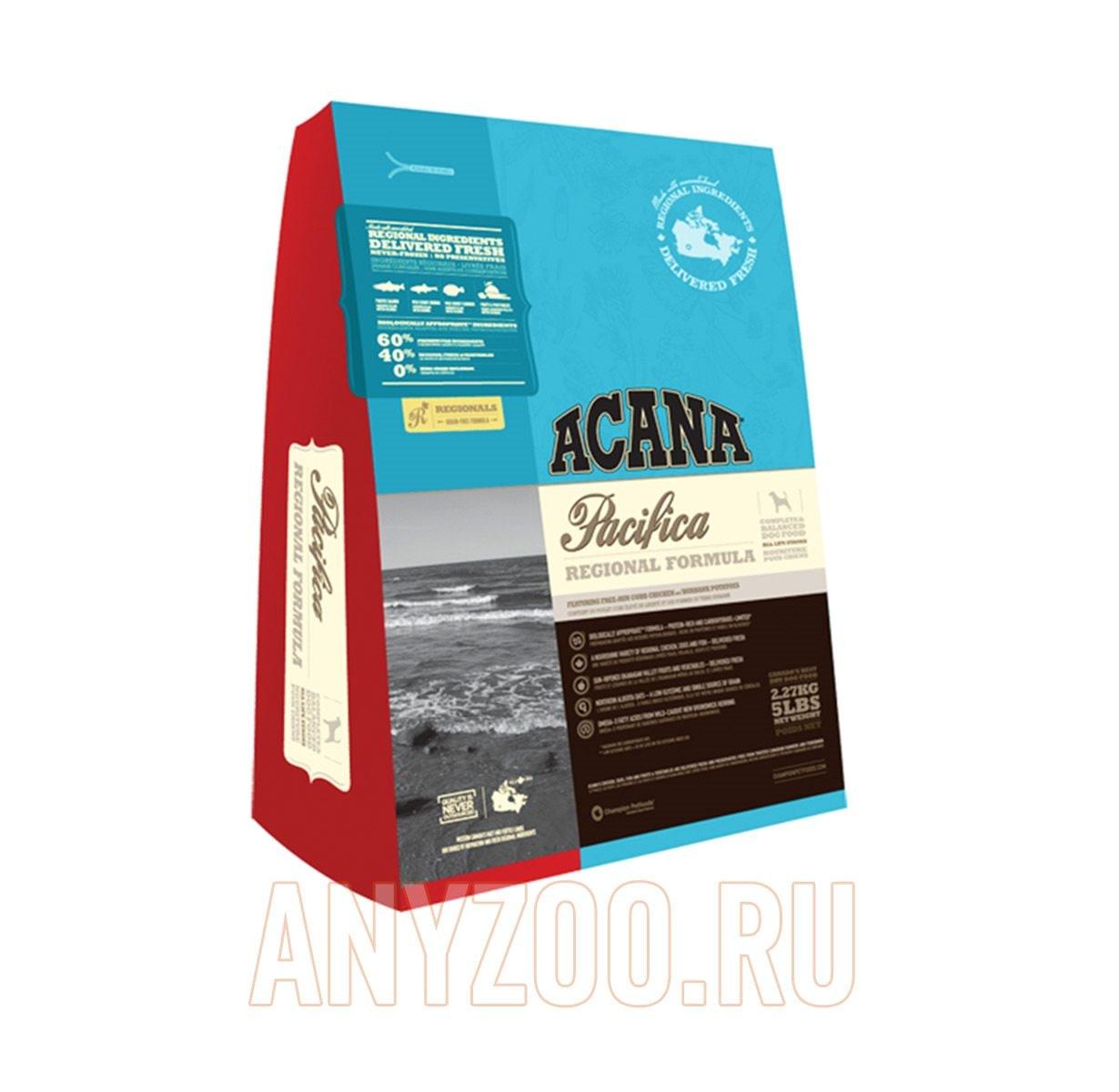 Фото товара Acana Pacifica Dog - Акана для собак всех пород и возрастов (Беззерновой)