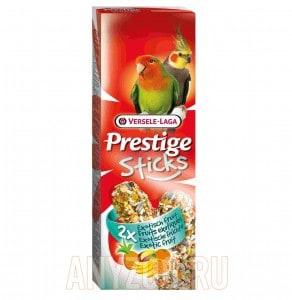 фото Versele-Laga Prestige палочка для средних попугаев с экзотическими фруктами