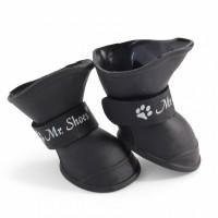 Triol Триол Сапожки для собак модель 203YXS, черные