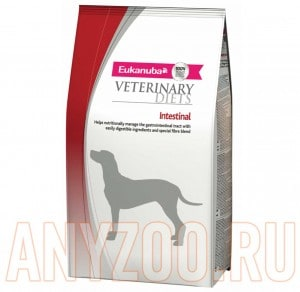 фото Eukanuba Dog DC Intestinal - Эукануба Интестинал сухой корм для собак при расстройствах ЖКТ