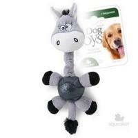 фото GiGwi 75282 Игрушка для собак Осел с мячом и пищалкой