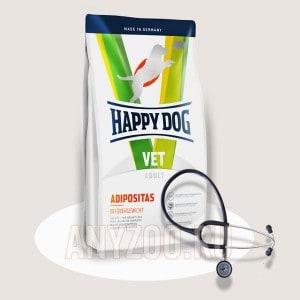 Купить Happy Dog Adipositas Хэппи Дог Диетический корм для собак при избыточном весе