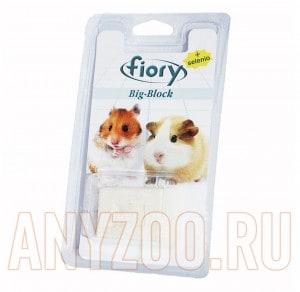 фото Fiory Big-Block Био-камень для грызунов с селеном