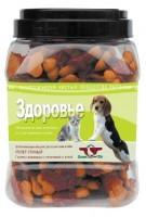 фото Green Cuisine Лакомство для собак Здоровье (галеты с телятиной и уткой)