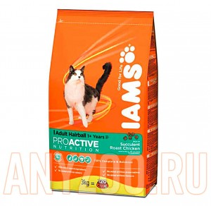 Iams Adult Hairball Chicken