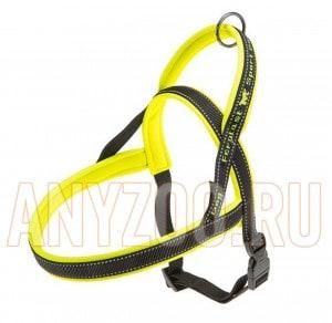 фото Ferplast Sport Dog P Medium Ферпласт шлейка для собак средних пород желтая 78004728