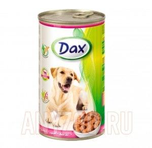 фото Dax Дакс консервы для взрослых собак с телятиной