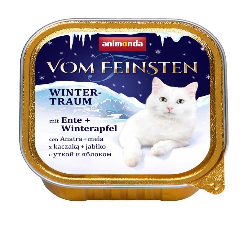 Фото товара Animonda Vom Feinsten Winter-Traum Утка с яблоком для кошек