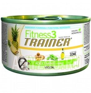 фото Trainer Fitness 3 Adult Mini Vegetal Консервы для собак мелких пород Вегетарианские