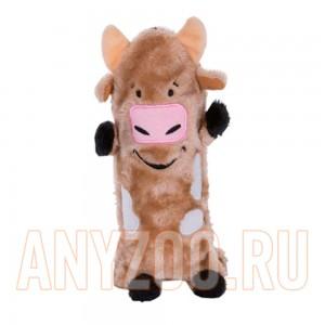Купить Petstages Ботл Гиглерс Игрушка для собак текстильная с бутылкой Корова